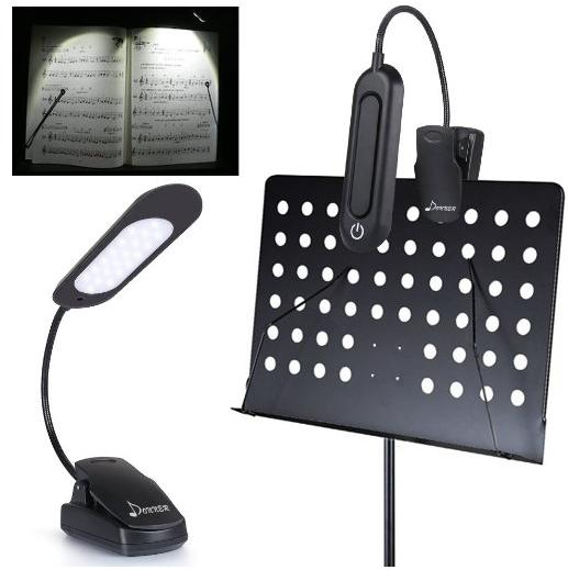 Donner DL-3 Music Stand Light Cilp On Flexible Touch Switch