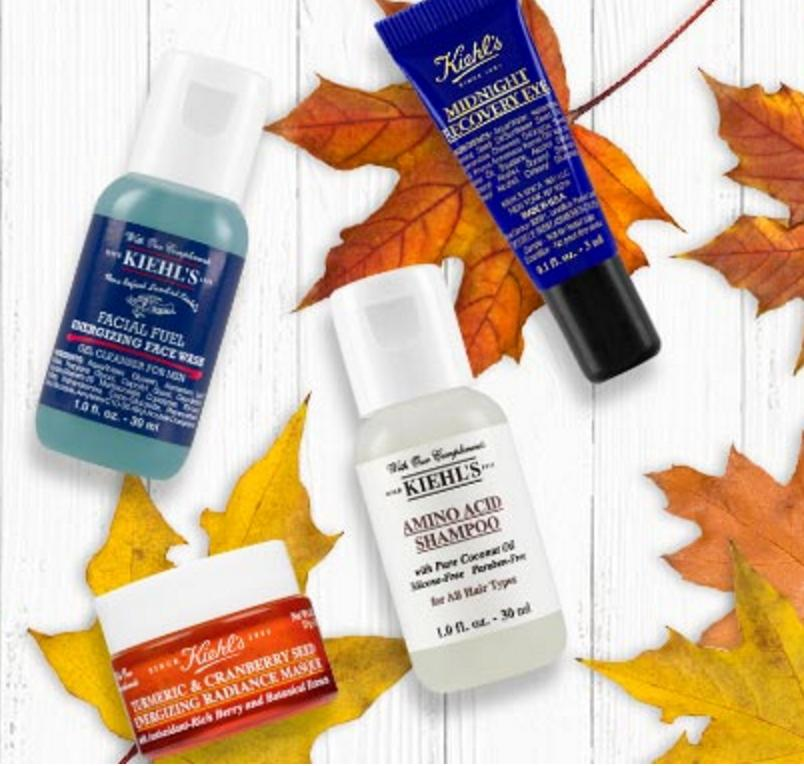 Enjoy 2 Deluxe Samples with Any Treatment Product Purchase @ Kiehl's