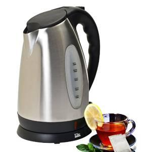 Elite Platinum EKT-7050 Maxi-Matic 10 Cup Cordless Water Kettle, Stainless Steel