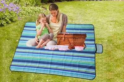 $10.99 Attmu Beach Picnic Outdoor Blanket Mat, Water-Resistant Outdoor Mat, All-Purpose Mat