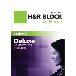 H&R Block At Home 2011 Deluxe $17, Deluxe + State $20, Premium $30