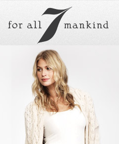 7 For All Mankind最低5折(50% Off)特价.