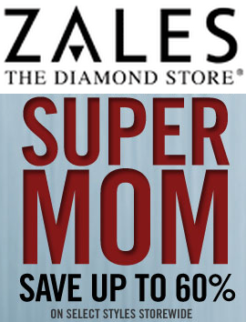 Up to 60% OffCelebrate Your Super Mom Sale at Zales.com!