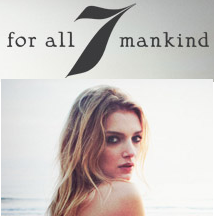 7 for Mankind Coupon7 For All Mankind满$250省$50,满$500省$125
