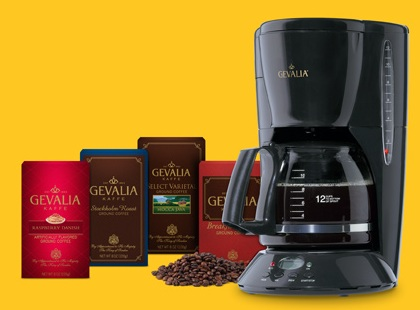 FREE CoffeemakerWhen You Buy 4 Boxes of Coffee for just $9.99 at Gevalia.com!