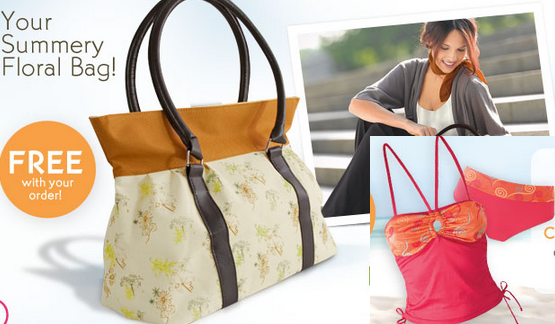 Free Summer Floral Bag + Free SwimSuit over $45 + $7 off $30at Yves Rocher