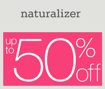 Up to 50% OffSitewide Sale at Naturalizer