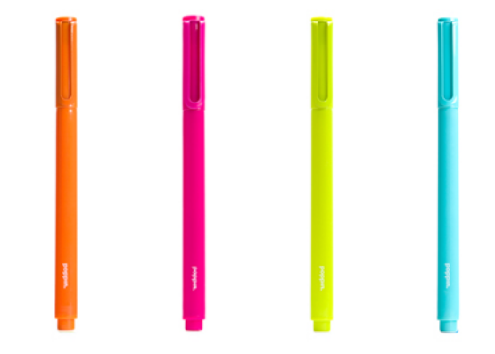 Free Box of 12 Signature Ballpoint Penswith any purchase of $10  @ Poppin.com