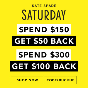 Up To $100 Off@ Kate Spade Saturday