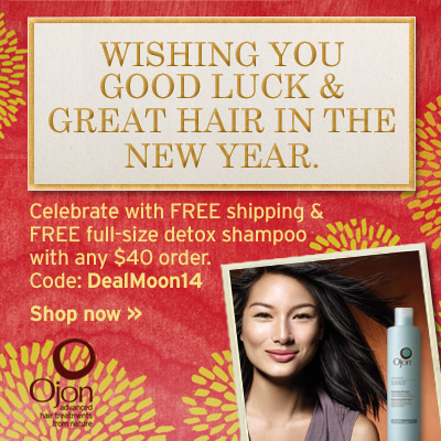 Free Full-size Detox Shampoo& Free Shipping with Any $40 Order @ Ojon, A Dealmoon exlcusive