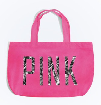 Free Totewith Pink orders over $50 @ Victorias Secret