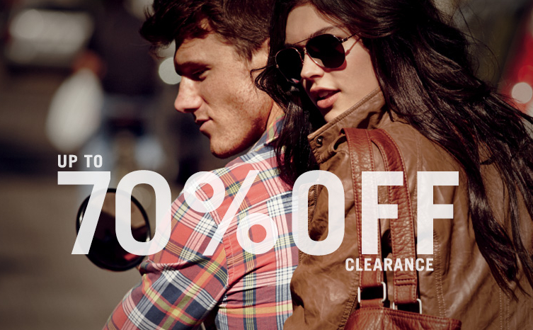 Up To 70% OffClearance @ Aeropostale