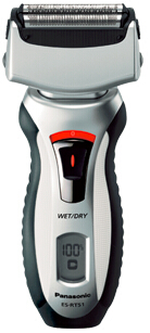 Panasonic 3-Blade Electric Shaver with Travel Pouch Wet/Dry ES-RT51-S