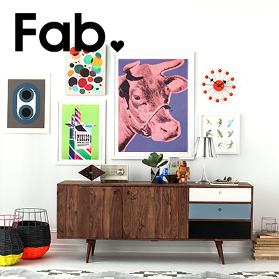 20% OffFull-Price Items & 50% Off Clearance Items @ Fab