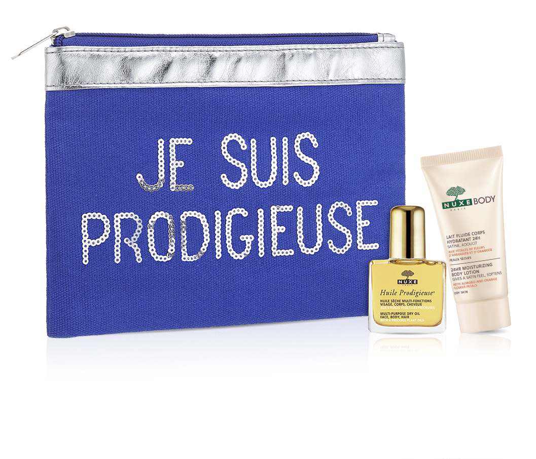 Free Beauty bag + 2 miniswith any order @ Nuxe, A DEALMOON EXCLUSIVE
