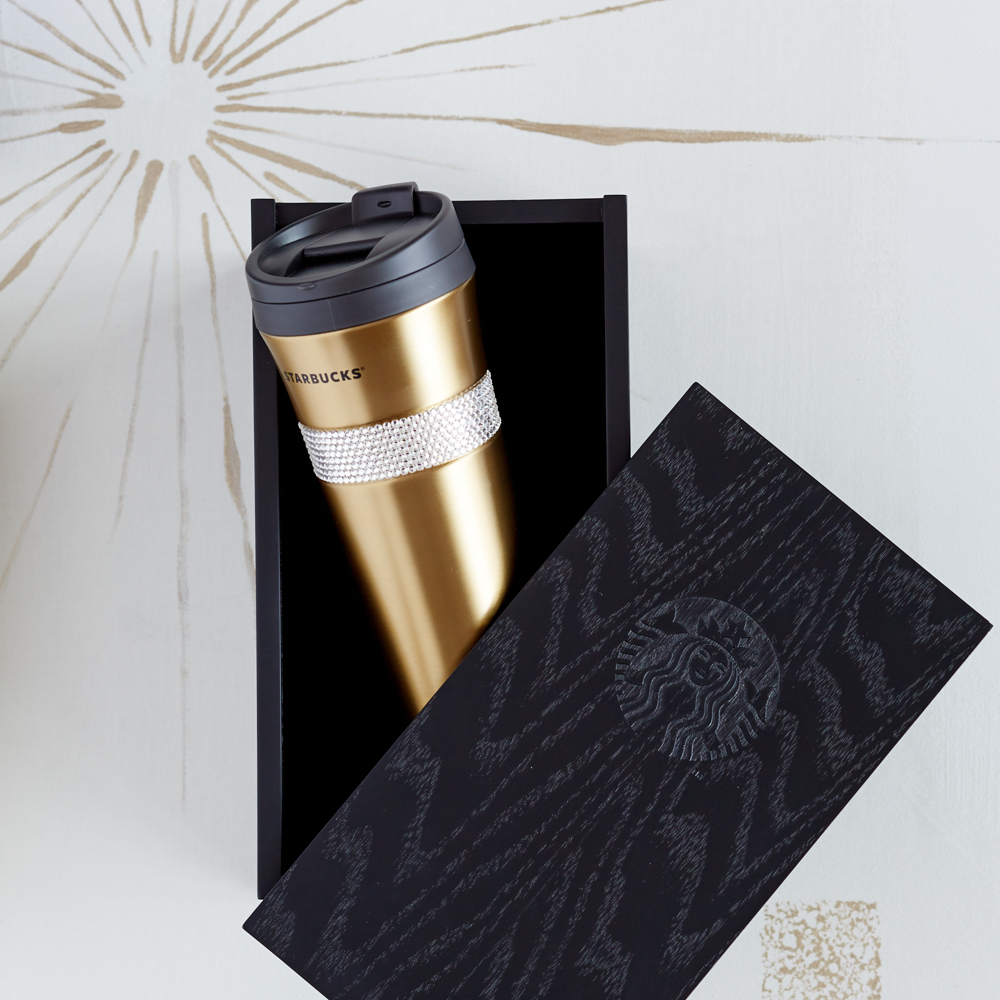 $84.95 Limited Edition Starbucks Swarovski Products Now Available