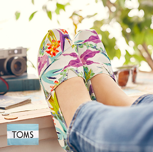 Up to 40% Off  Toms Sale @ Zulily