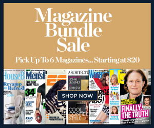 From $20 Magazine Bundle Sale @ DiscountMags.com