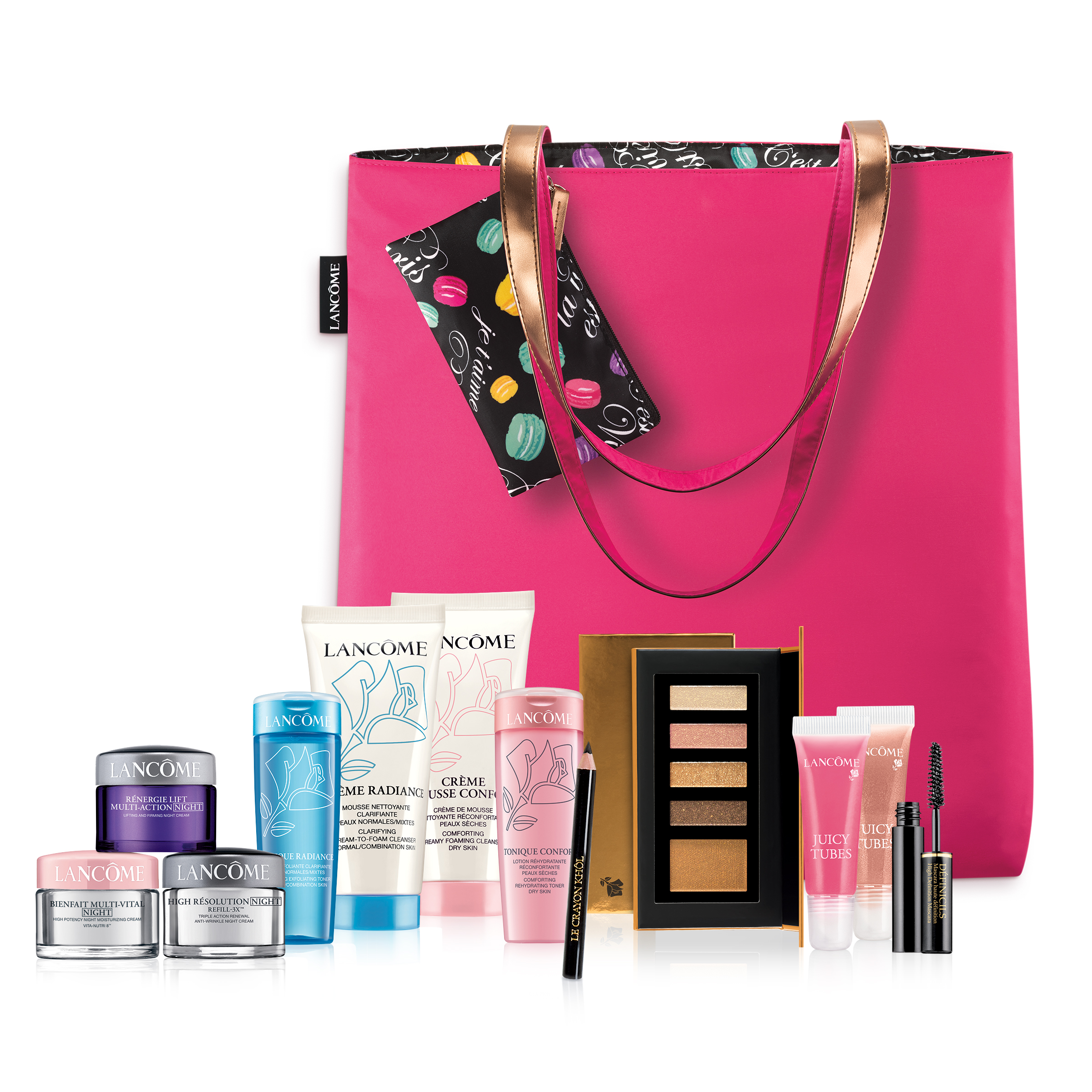 Free 6-piece Gift  (Value $53-$82)  with any $35 Lancôme purchase @ macys.com