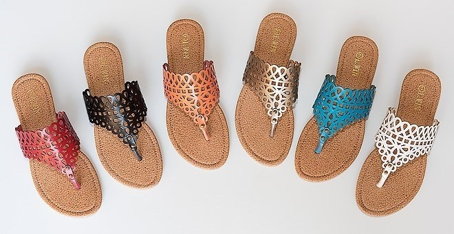 $10.99Lattice Casual Sandals