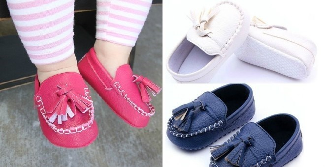 $10.99New Style Baby Moccasins
