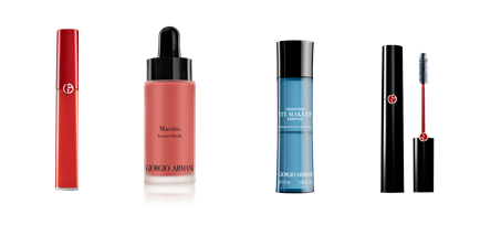 4 Deluxe Samples on Any Purchase of $50 or More @ Giorgio Armani Beauty