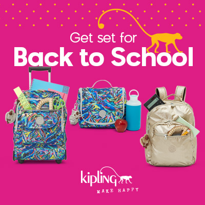 Extra 20% Off All Sale & 25% Off Back To School Items @ Kipling USA