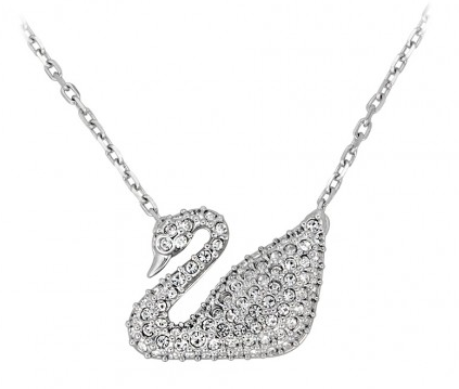 Swarovski Swan Pendant (Dealmoon Exclusive)