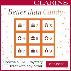 Choose Your Free Mystery Gift with Any Order  @ Clarins
