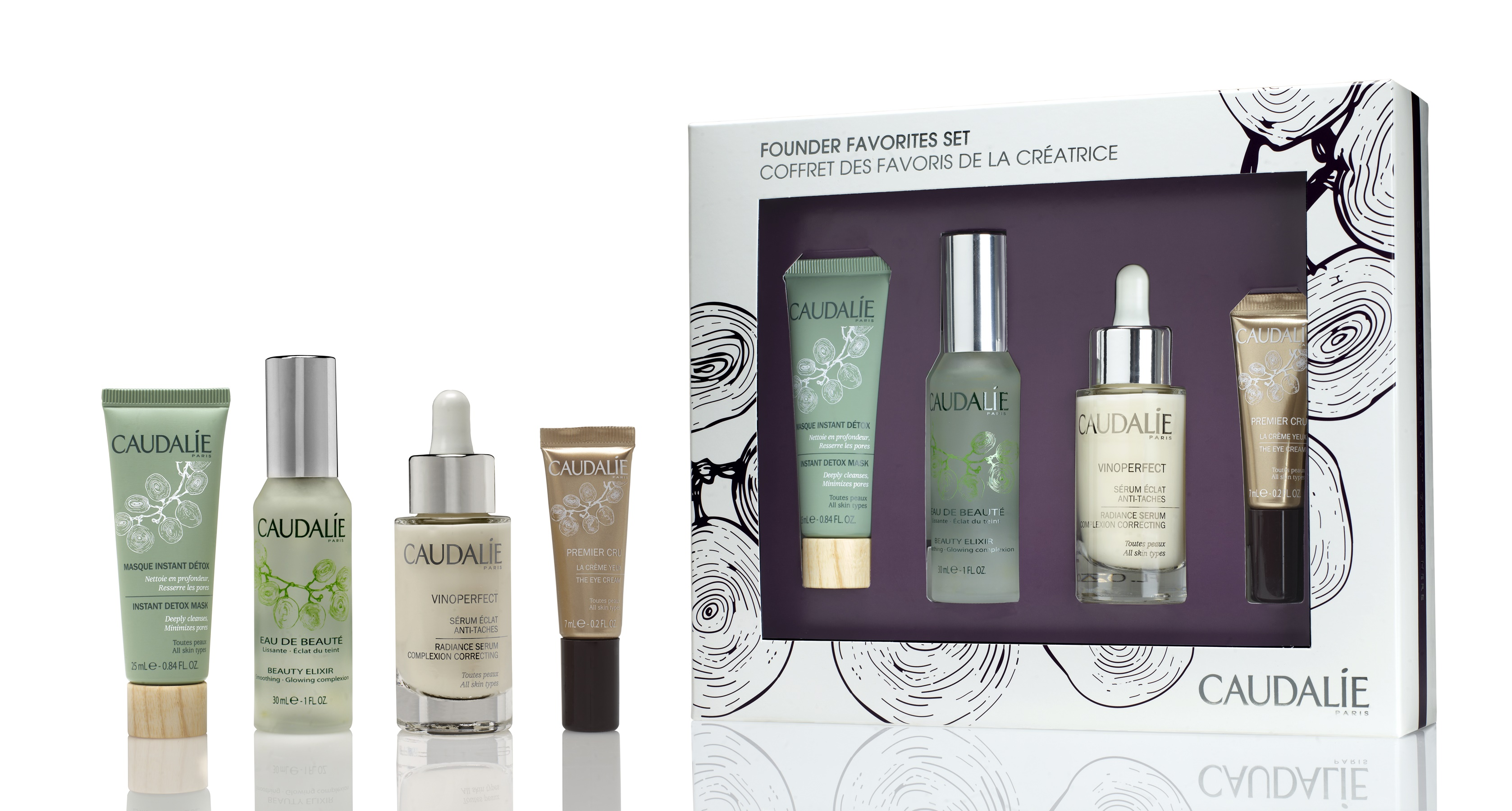 Dealmoon Exclusive ! 20% Off Founder's Favorites Set  (value $156) @ Caudalie
