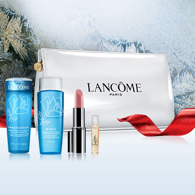 Dealmoon Exclusive!4 Beauty Samples($45 value)+A Travel Bag With Your Order of $39 or more @ Lancome