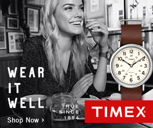 $15 Off Your Purchase @ Timex