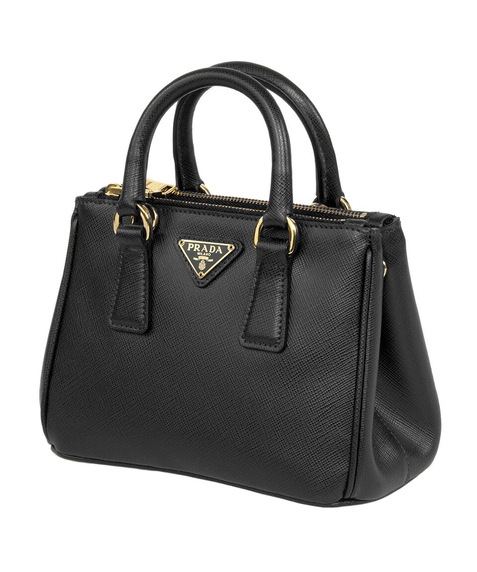 Prada Saffiano Small Leather Tote, Pick Color