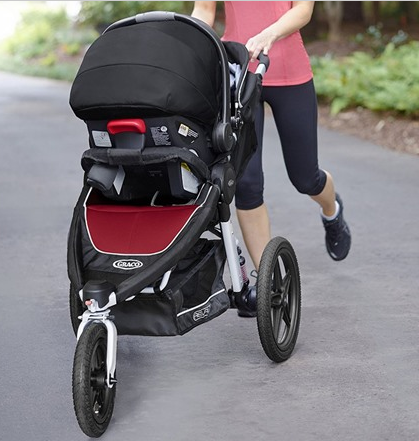 Graco Relay Click Connect Jogging Stroller - Cougar