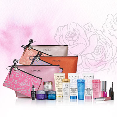 Free 7-piece Deluxe Sample Gift + Free Shipping with Orders of $60 or More @ Lancome