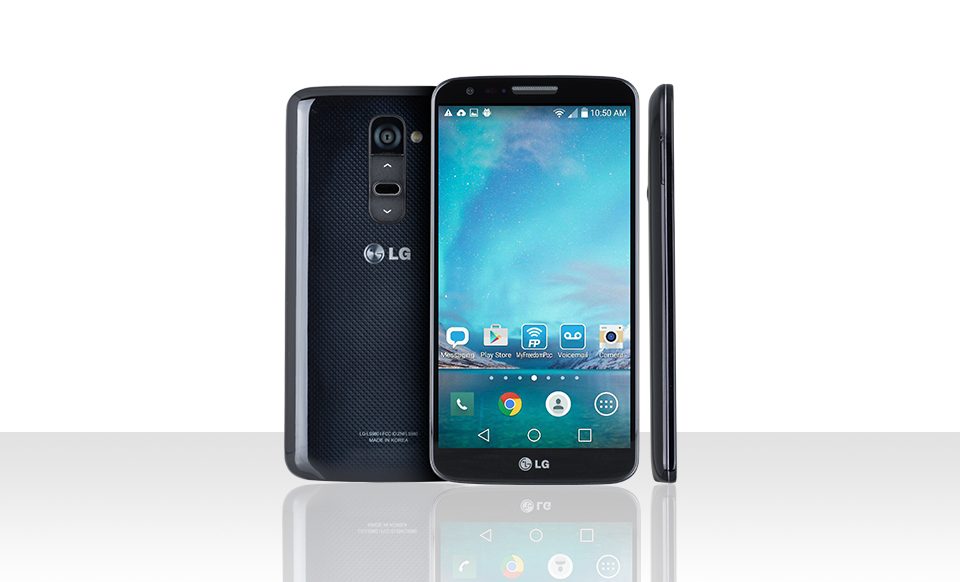 $69.99 w/ 1-month Premium Plus trial LG G2 LTE (Certified Pre-Owned) with FreedomPop 100% Free Mobile Phone Service