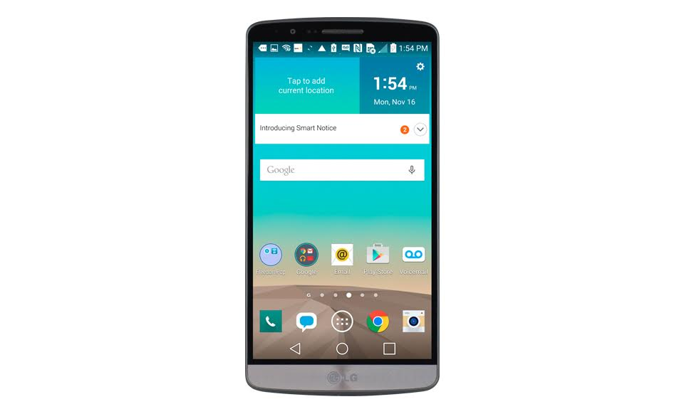 $164.99 w/ 1-month Premium Plus trial LG G3(Certified Pre-Owned) LTE with FreedomPop 100% Free Mobile Phone Service