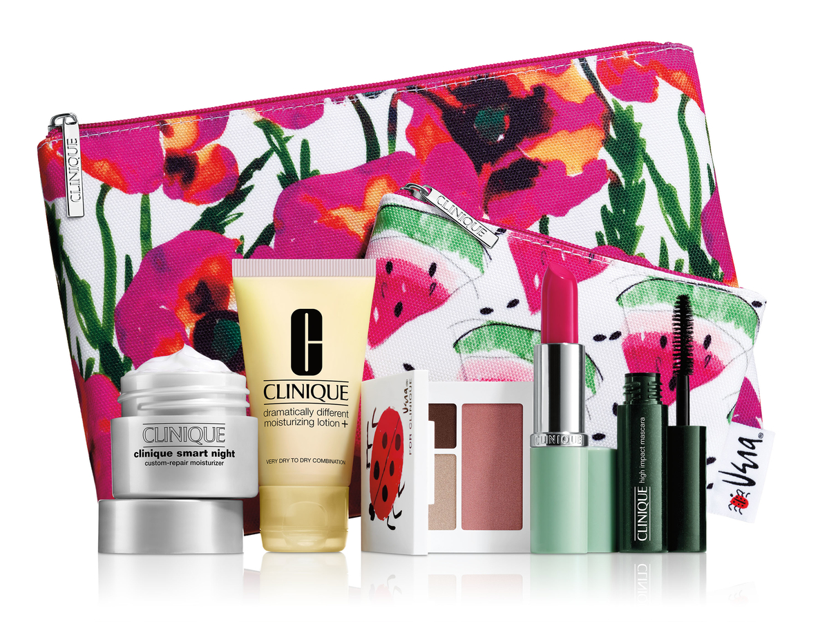 FREE 7-Piece Gift with Any $27 Clinique purchase + Free Shipping @ Macys.com