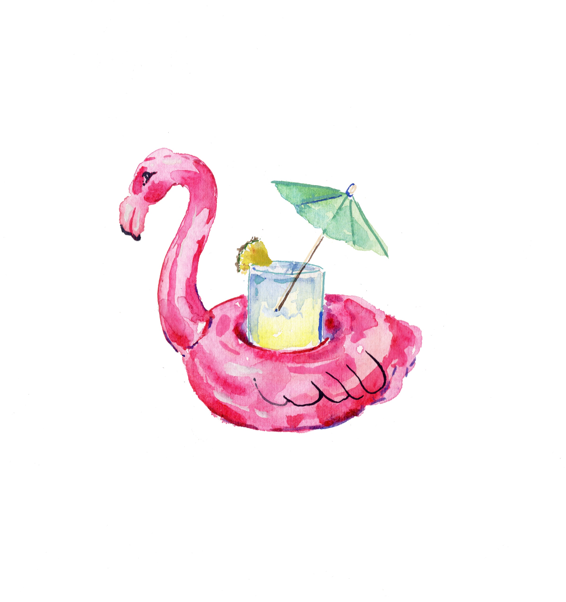 Free Flamingo Cup Holder + Free Shipping With Every Purchase @ Soludos