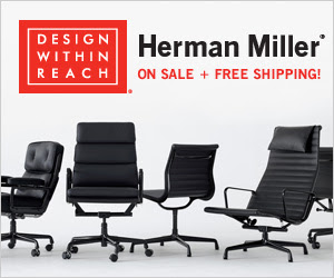 15% Off Select Herman Miller +Free Shipping  @Design Within Reach
