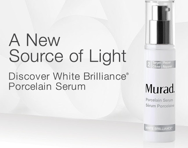 Dealmoon Exclusive: 25% Off! the NEW White Brilliance Porcelain Serum @Murad Skin Care