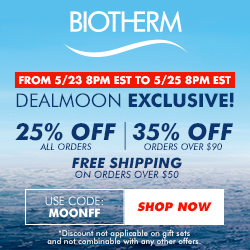 Dealmoon Exclusive Early Access to Biotherm's biggest sale of the year! Up to 35% Off Your Order + FREE Shipping on orders $50+ @Biotherm