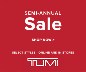 Up to 25% OffSemi-Annual Sale @Tumi