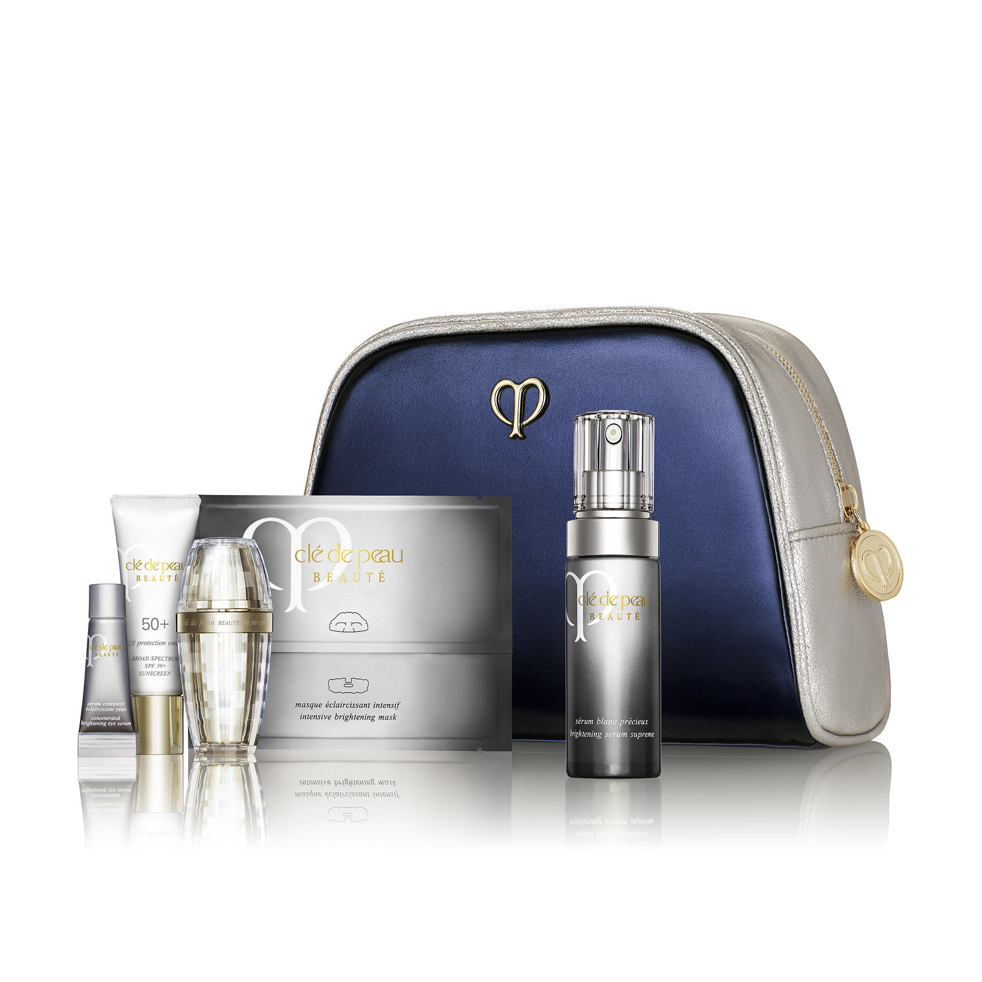 $180+Free 2 Day Shipping Cle de Peau Beaute NEW Brilliant Skin & Sun Defense Set - $311 value!