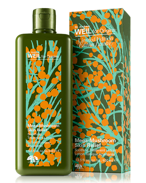 Dealmoon Exclusive! Pre-Sale + 4pcs GWP ($18 Value) Limited Edition Dr. Andrew Weil for Origins Mega-Mushroom Skin Relief Treatment Lotion