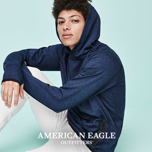 Last Day! Up to $30 Offwith Your Purchase of $50 or More @ American Eagle