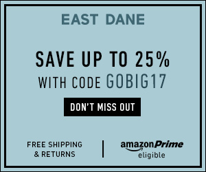 Up to 25% OffSitewide @ EastDane