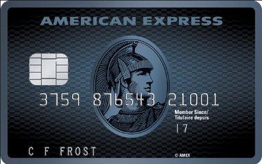 American Express Cobalt 信用卡
