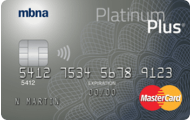 Platinum Plus® MasterCard® credit card - 0% for 12