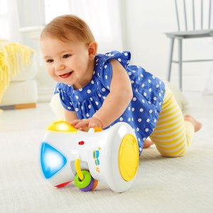 Bright Beats 2-in-1 Musical Drum Roll | CFN02 | Fisher Price